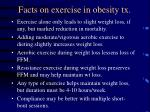 facts on exercise in obesity tx69