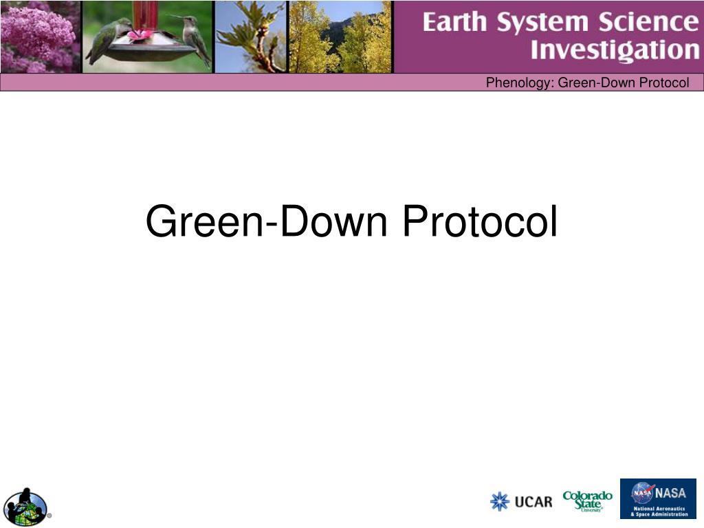 green down protocol l.