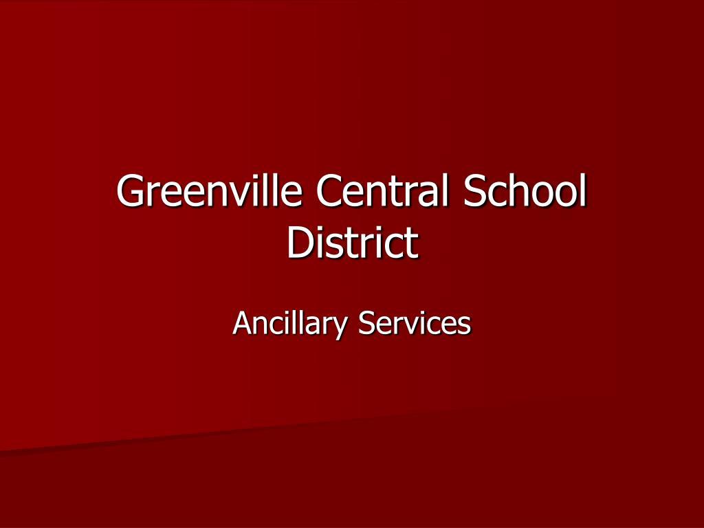 greenville central school district l.