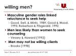 willing men