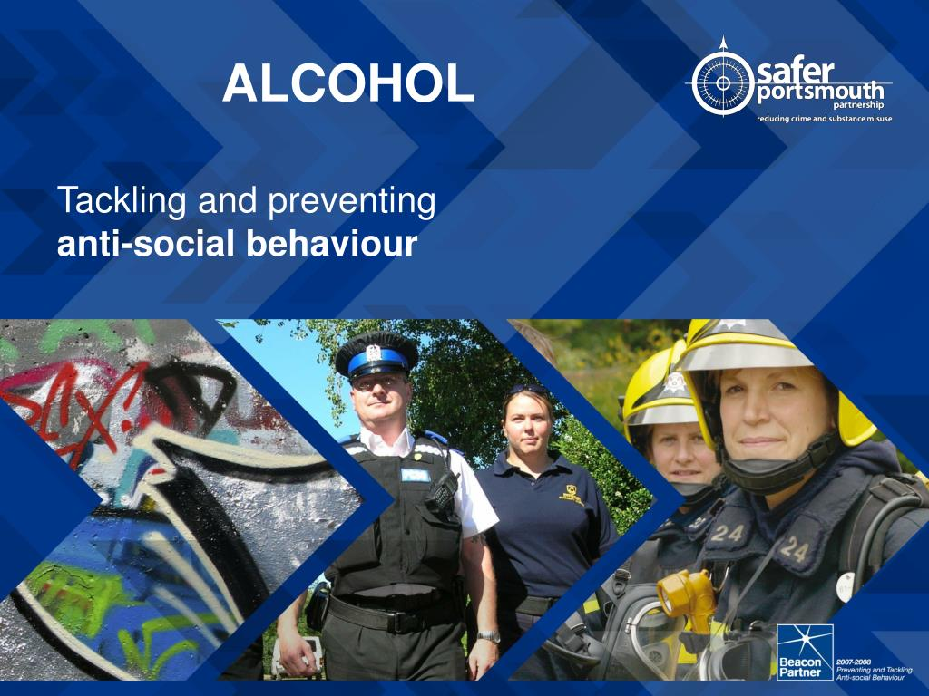 tackling and preventing anti social behaviour l.