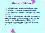 alcohol violence