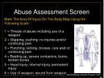 abuse assessment screen26