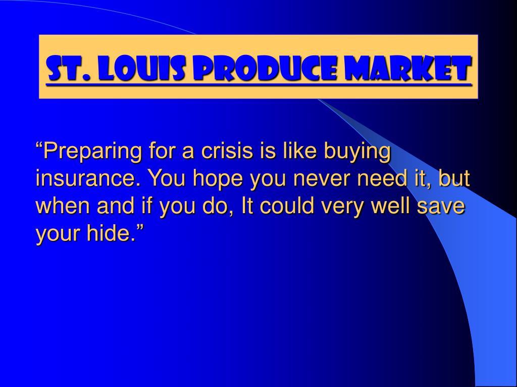 St. Louis Produce Market