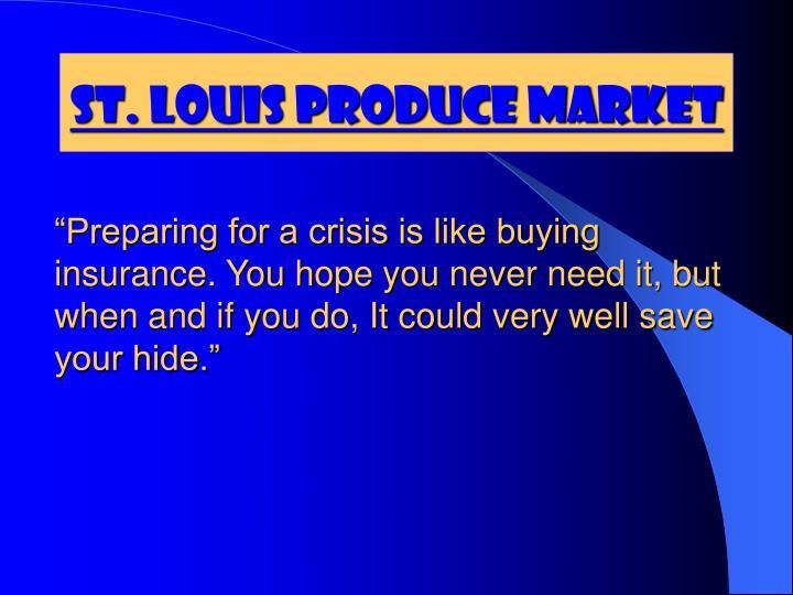St louis produce market
