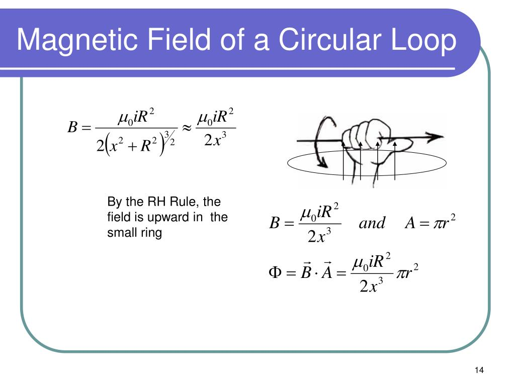 Magnetic Field of a Circular Loop