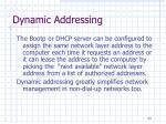 dynamic addressing23