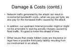 damage costs contd10