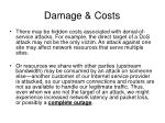 damage costs