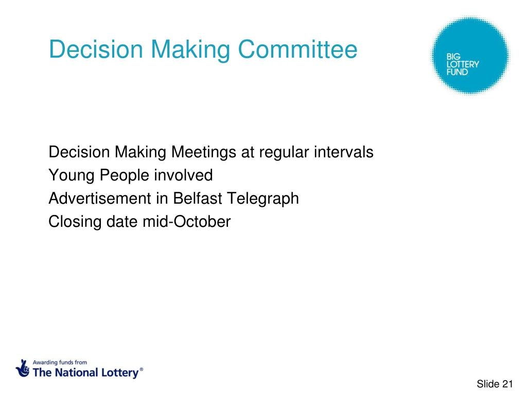 Decision Making Committee
