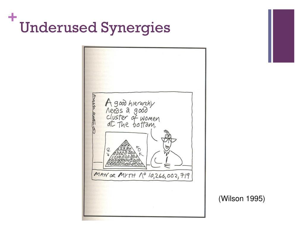 Underused Synergies