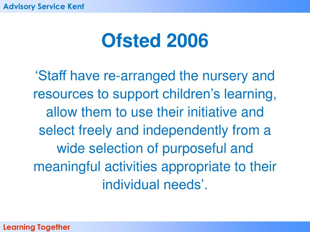Ofsted 2006