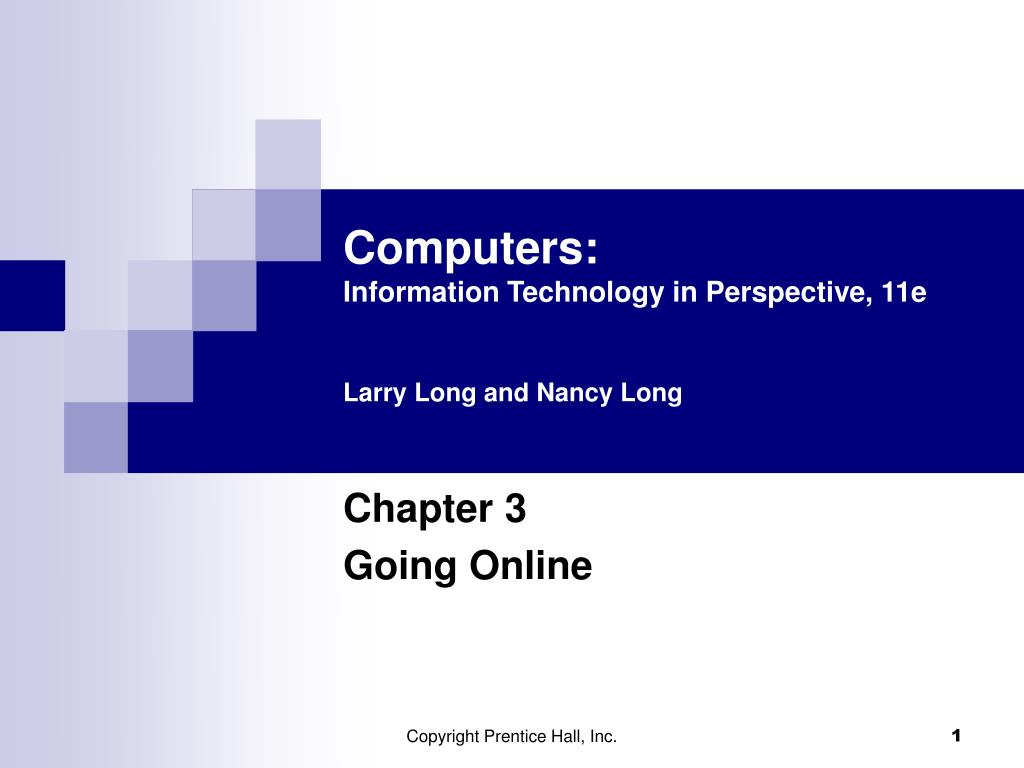 computers information technology in perspective 11e larry long and nancy long l.