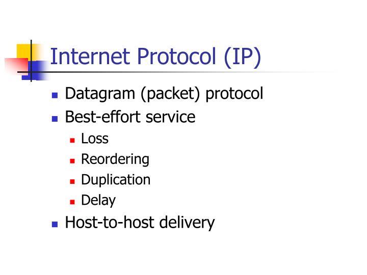 Internet protocol ip