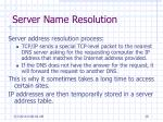 server name resolution39