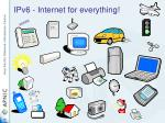 ipv6 internet for everything