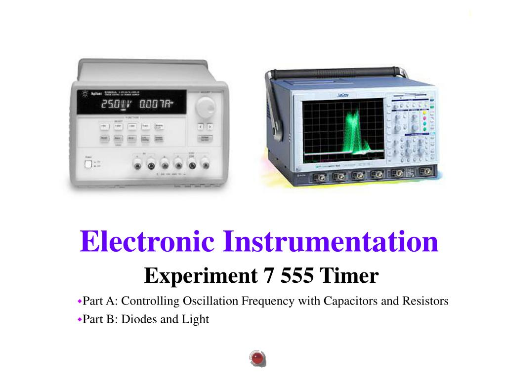 Ppt Experiment 7 555 Timer Powerpoint Presentation Id300783 Flashing Led Using L