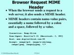 browser request mime header