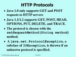 http protocols