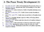 2 the peace treaty development 1