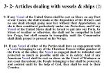 3 2 articles dealing with vessels ships 2
