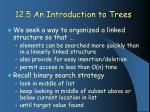 12 5 an introduction to trees