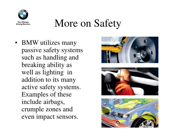 More on Safety