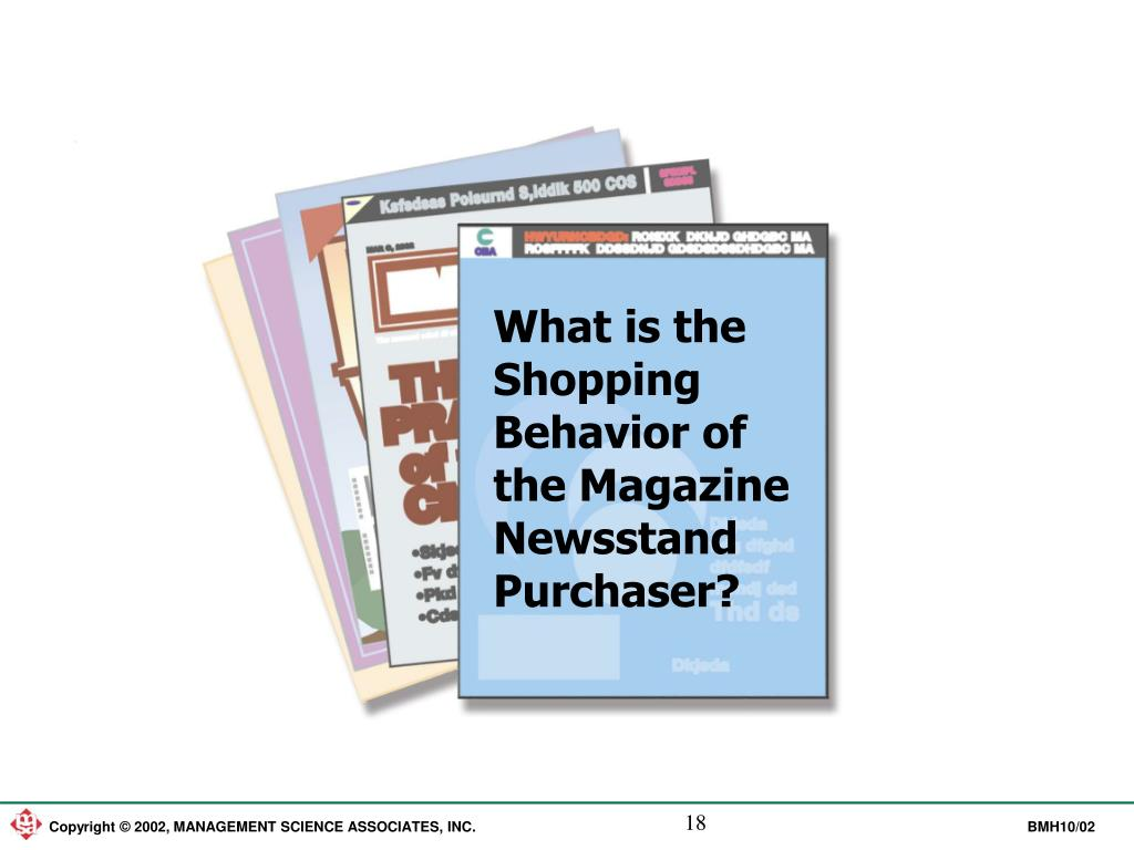 What is the Shopping Behavior of