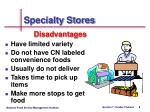 specialty stores8