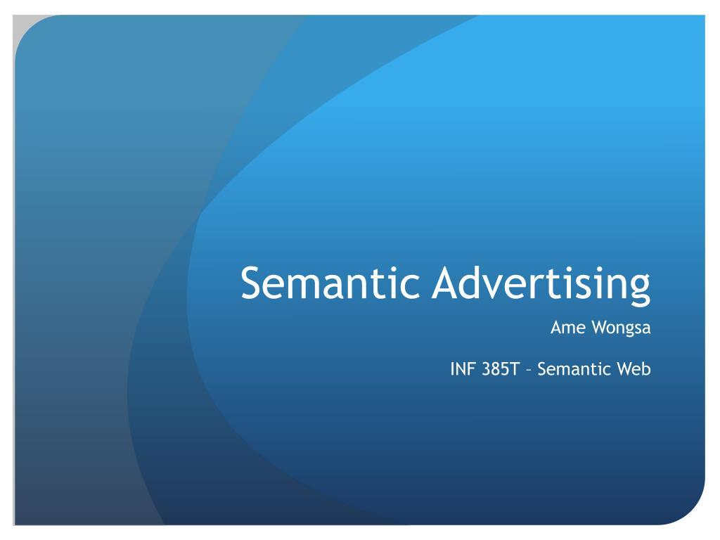 semantic advertising l.