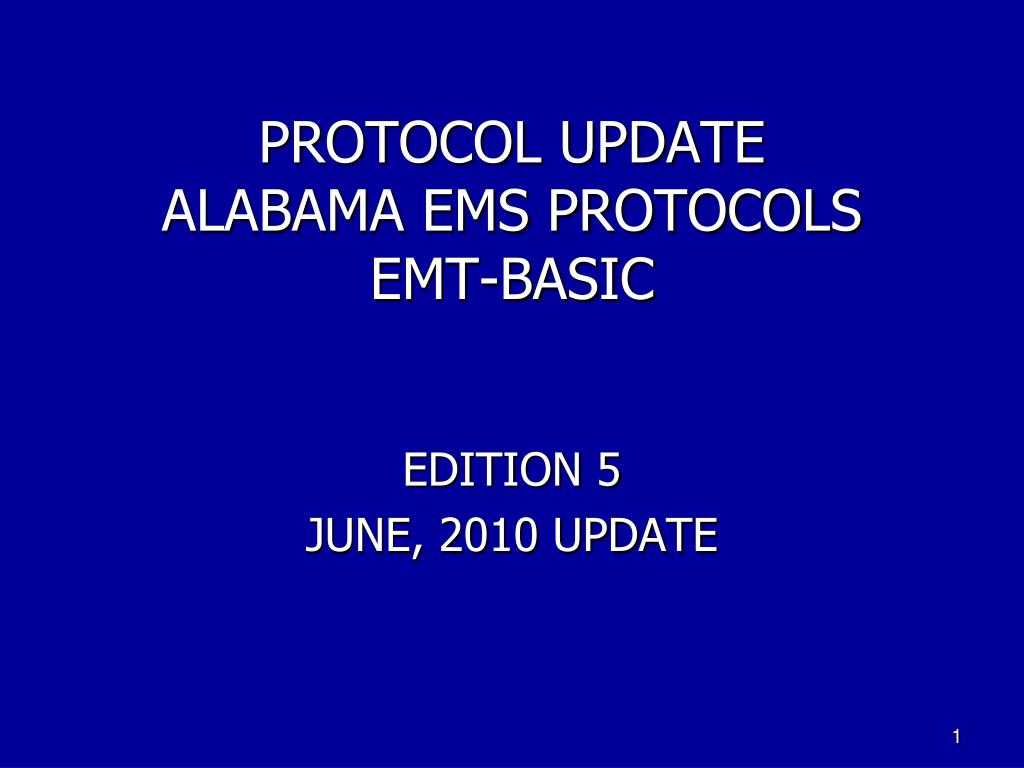 protocol update alabama ems protocols emt basic l.