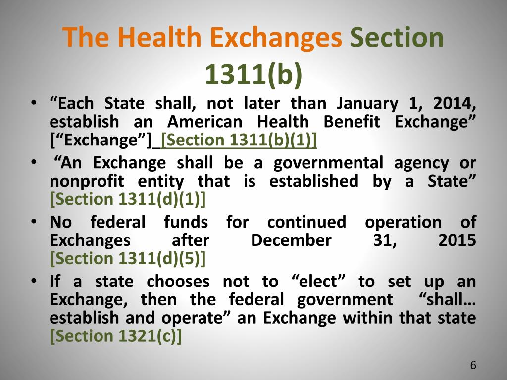 The Health Exchanges