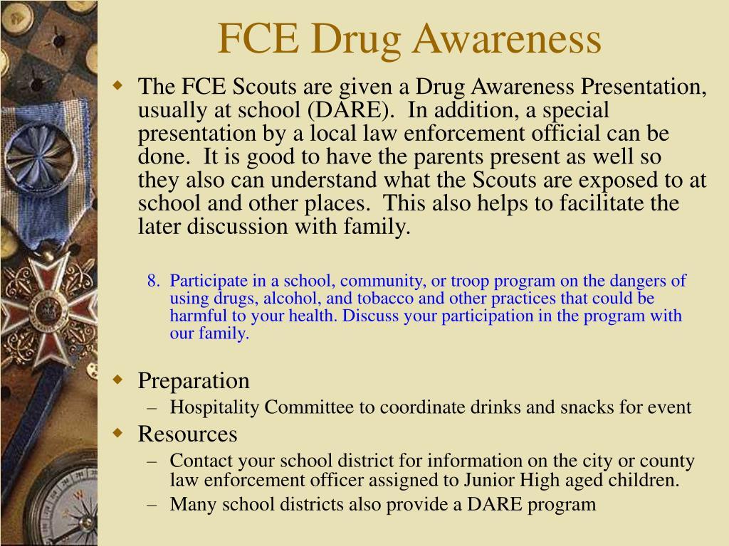 FCE Drug Awareness