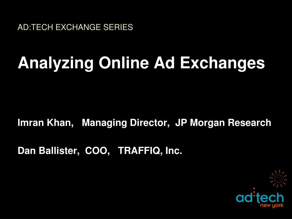 ad tech exchange series l.