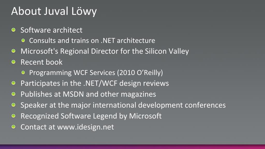About Juval Löwy