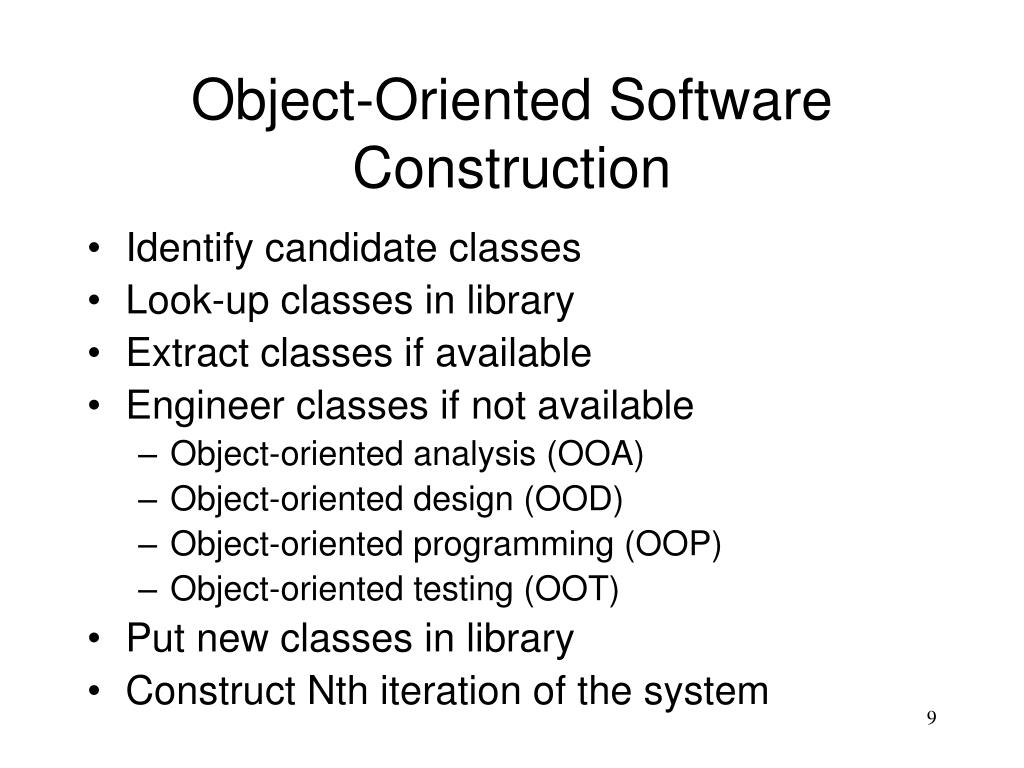 Ppt Object Oriented Software Engineering Powerpoint Presentation Free Download Id 301229