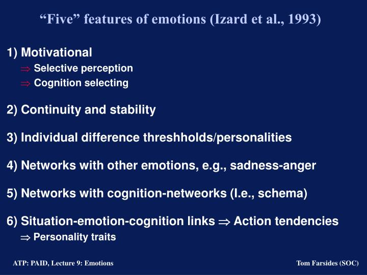 perception cognition and emotion Emotion and cognition in prejudice about transcript created by arshya vahabzadeh google classroom facebook twitter email perception.