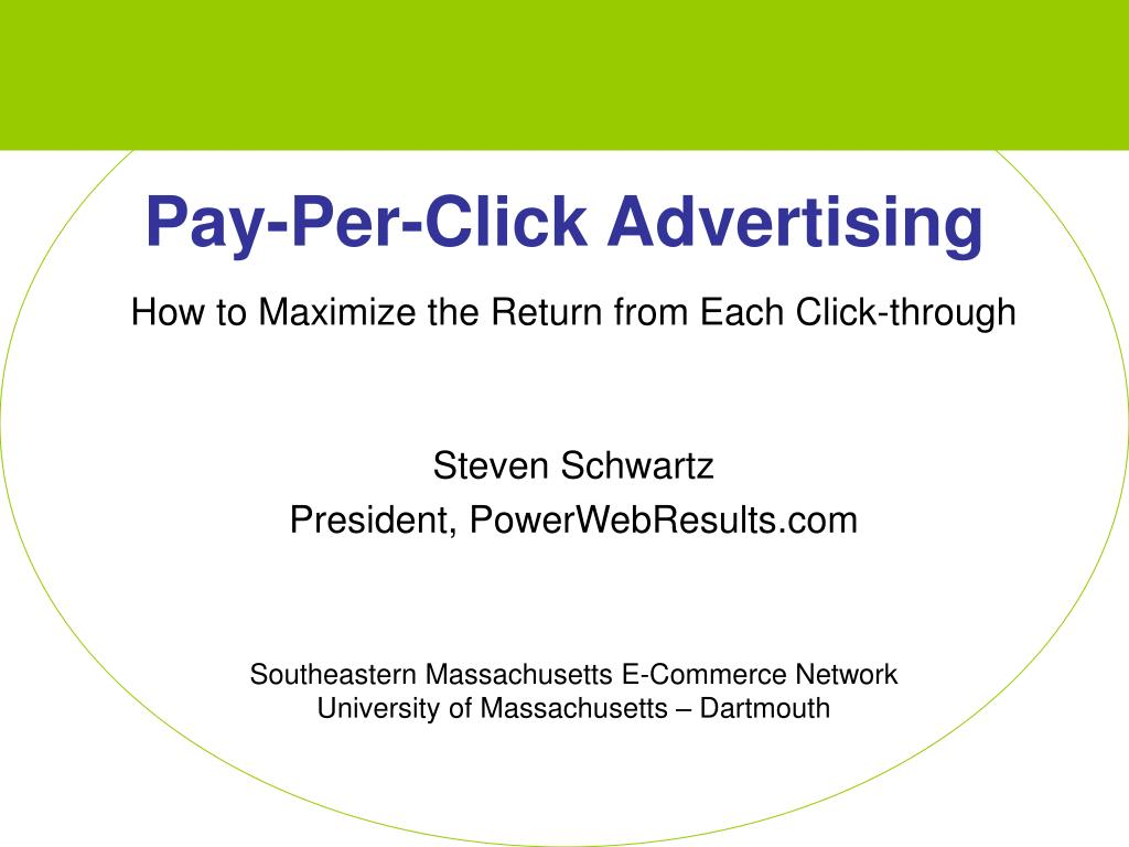 pay per click advertising l.
