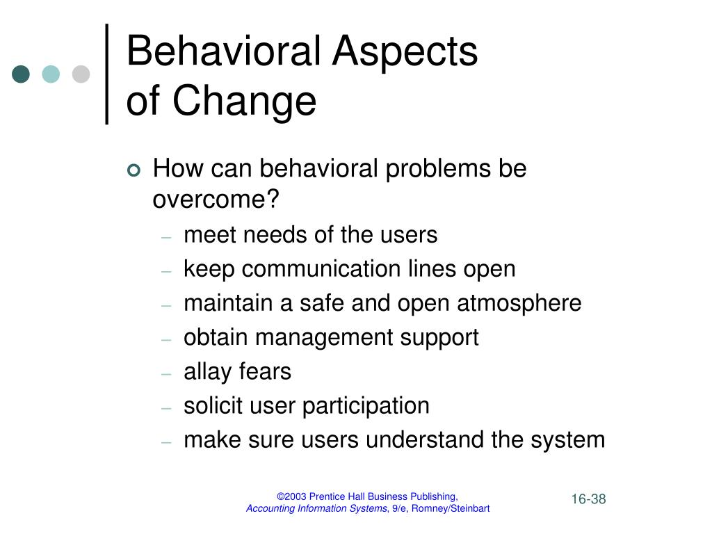 behavioral aspects of project management essay Some light on this contradictory topic and will provide practical suggestions for the integration of behavioral change aspects in project management keywords.