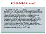 ppp multilink protocol