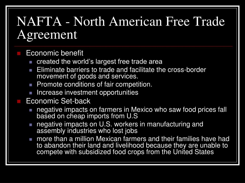 Ppt Trade Agreements Powerpoint Presentation Id 301294