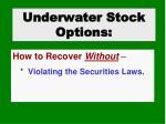 underwater stock options2