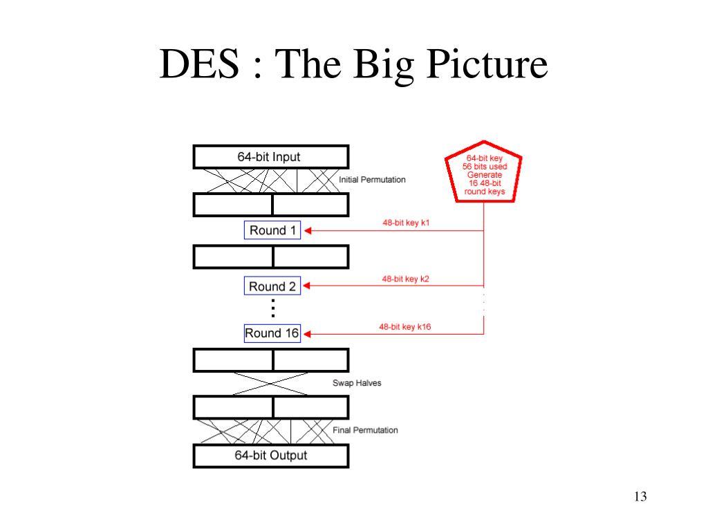 DES : The Big Picture