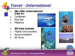 travel international