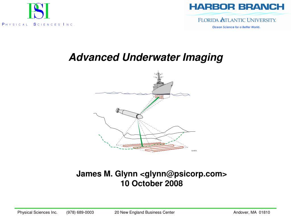 advanced underwater imaging l.