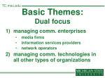 basic themes dual focus