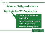 where itm grads work22