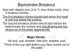 backstroke breakout