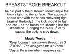 breaststroke breakout