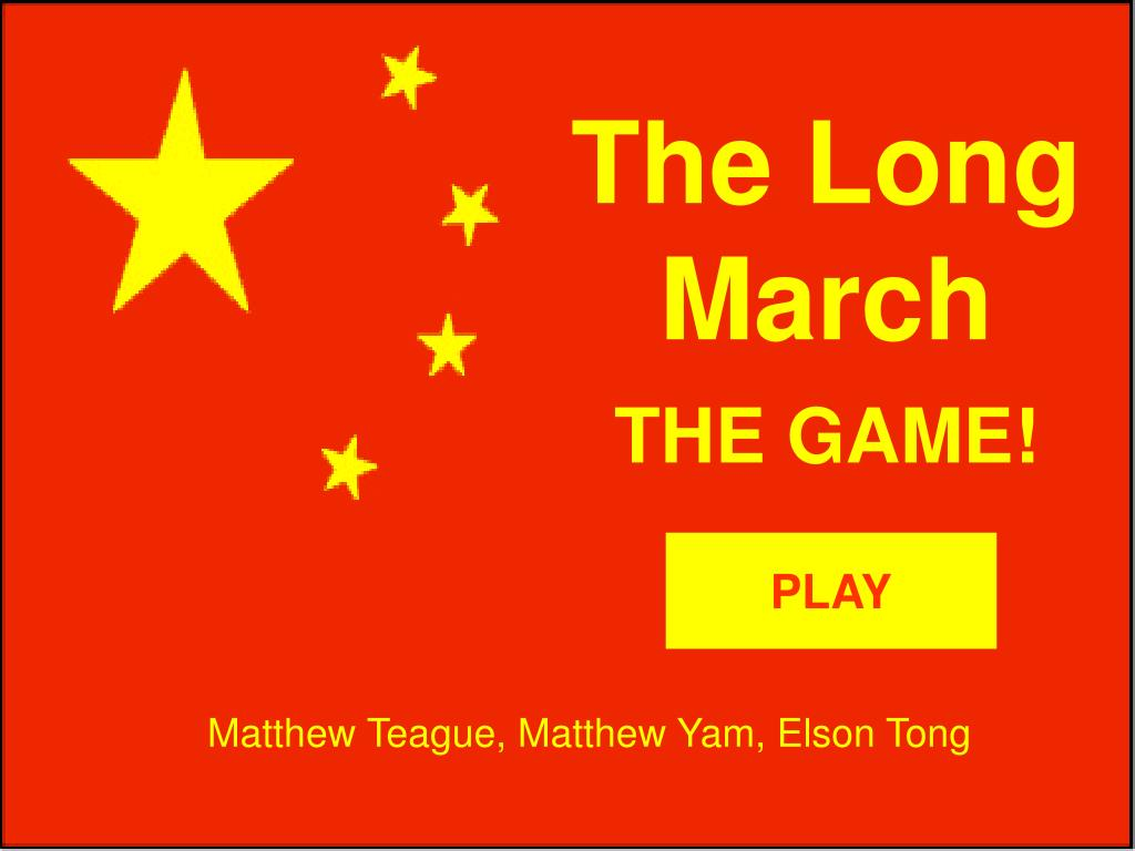 the long march l.